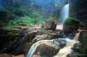 Beautiful Cimarinjung Waterfall